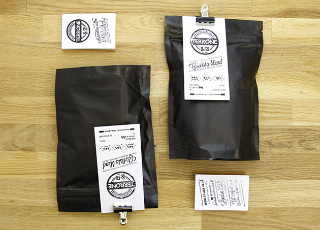 Coffee Label packaging london