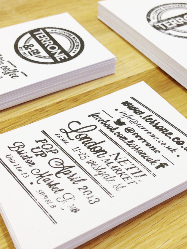terrone-coffee-business cards